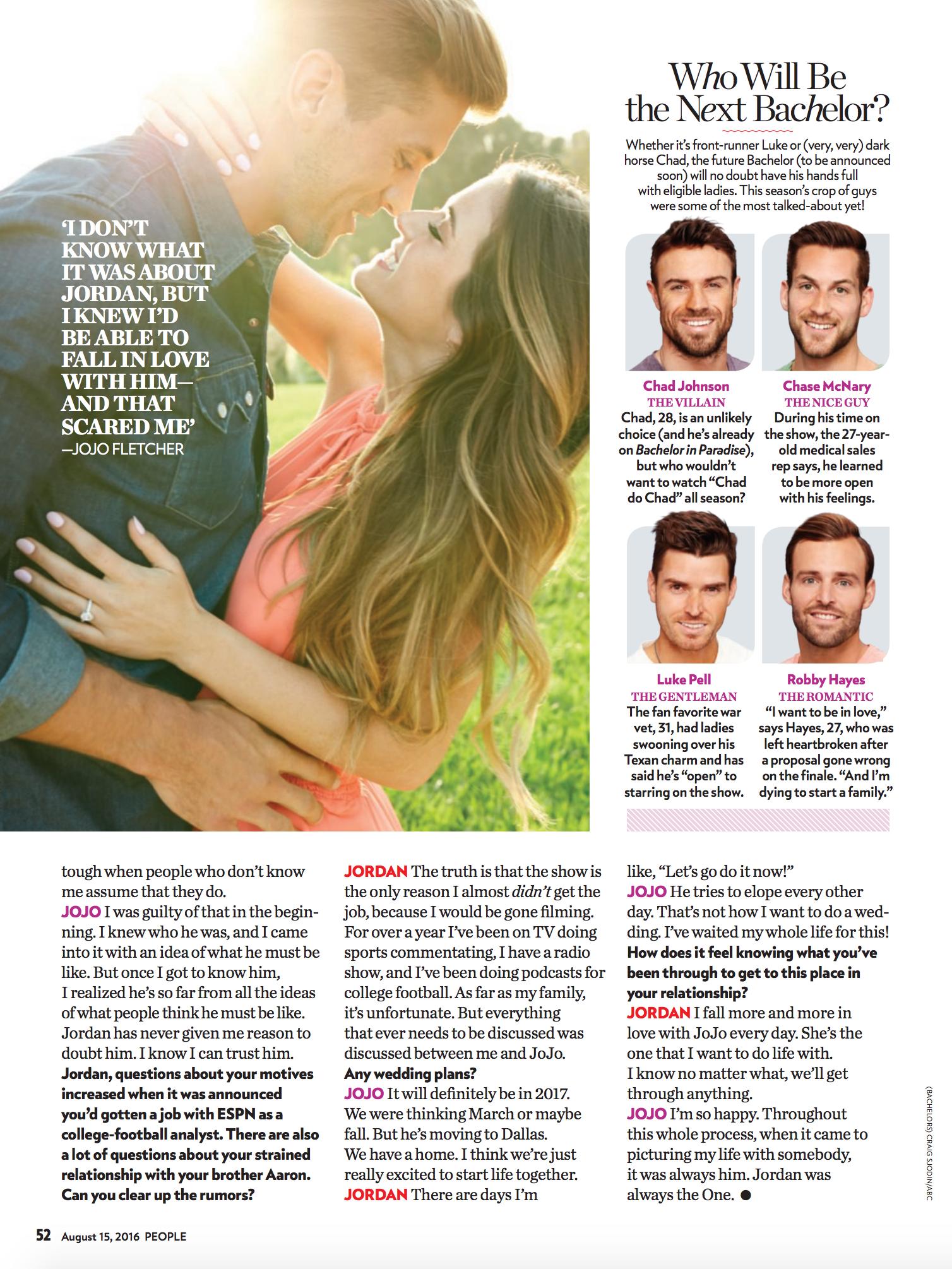 Ari Shoots JoJo & Jordan for People Magazine |